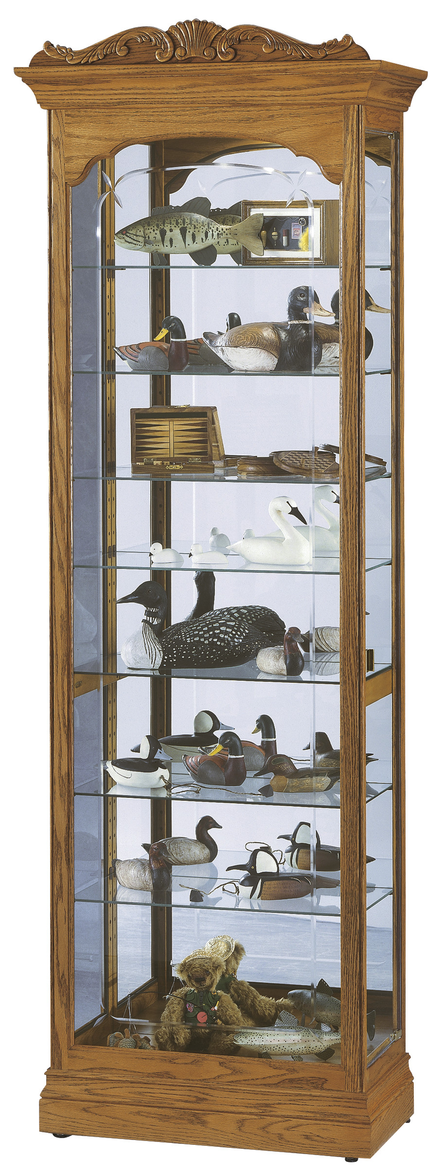 Cumberland 680 344 Howard Miller Floor Curio Cabinet