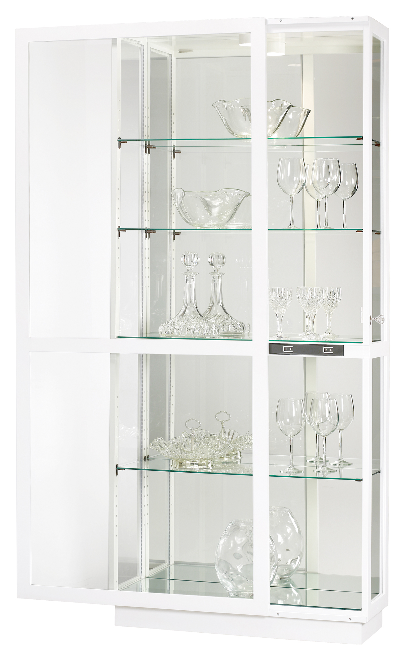 Jayden Iv 680 574 Howard Miller Floor Curio Cabinet