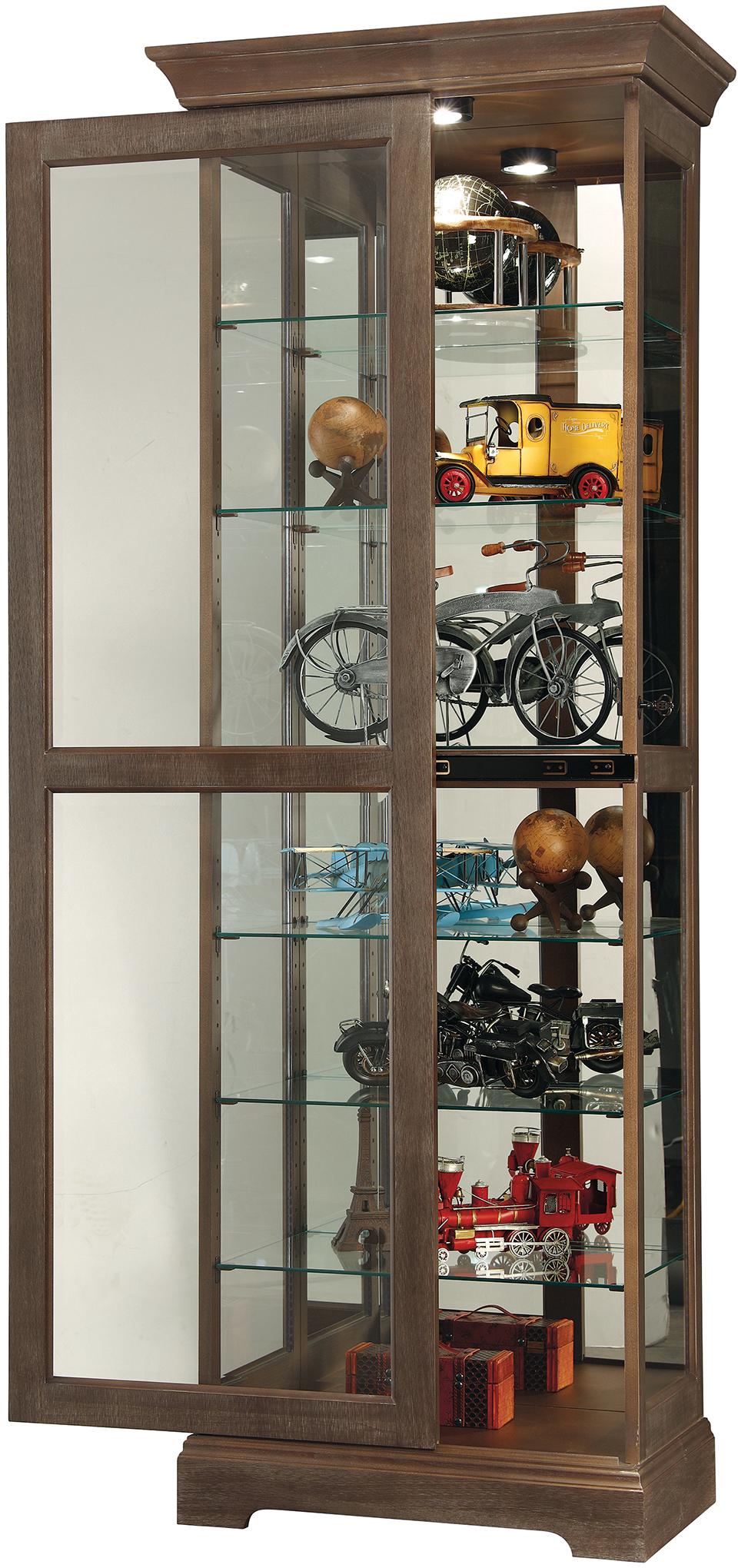 Martindale Iv 680 635 Howard Miller Floor Curio Cabinet