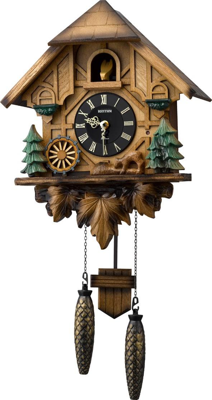Aleman 4mj423 R06 Rhythm Springfield Clock Shop