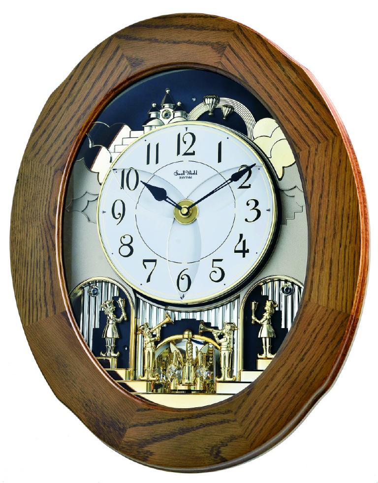 Joyful Essence 4mh417wu06 Rhythm Springfield Clock Shop