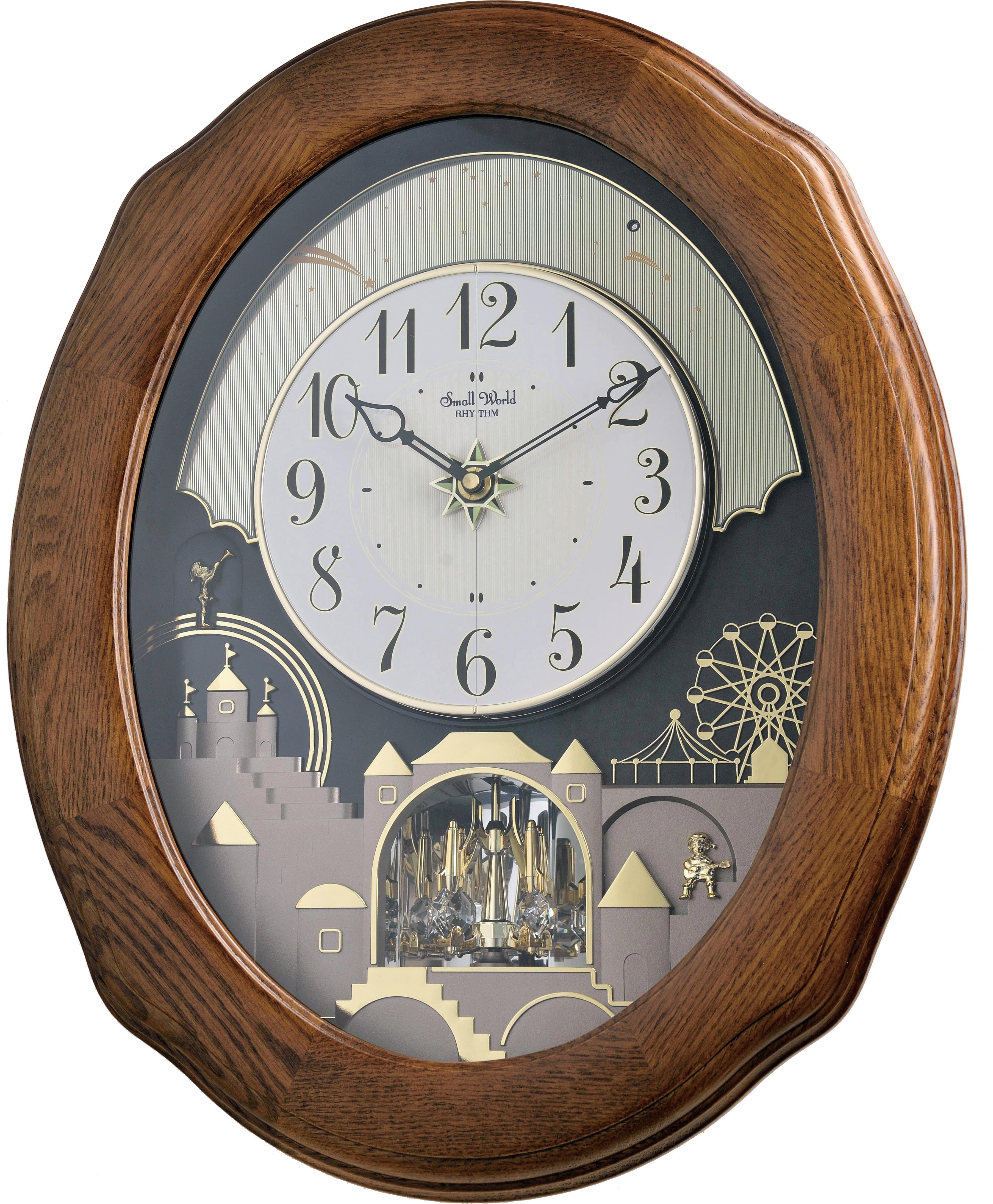 Small World Rhythm Clocks Moving Wall