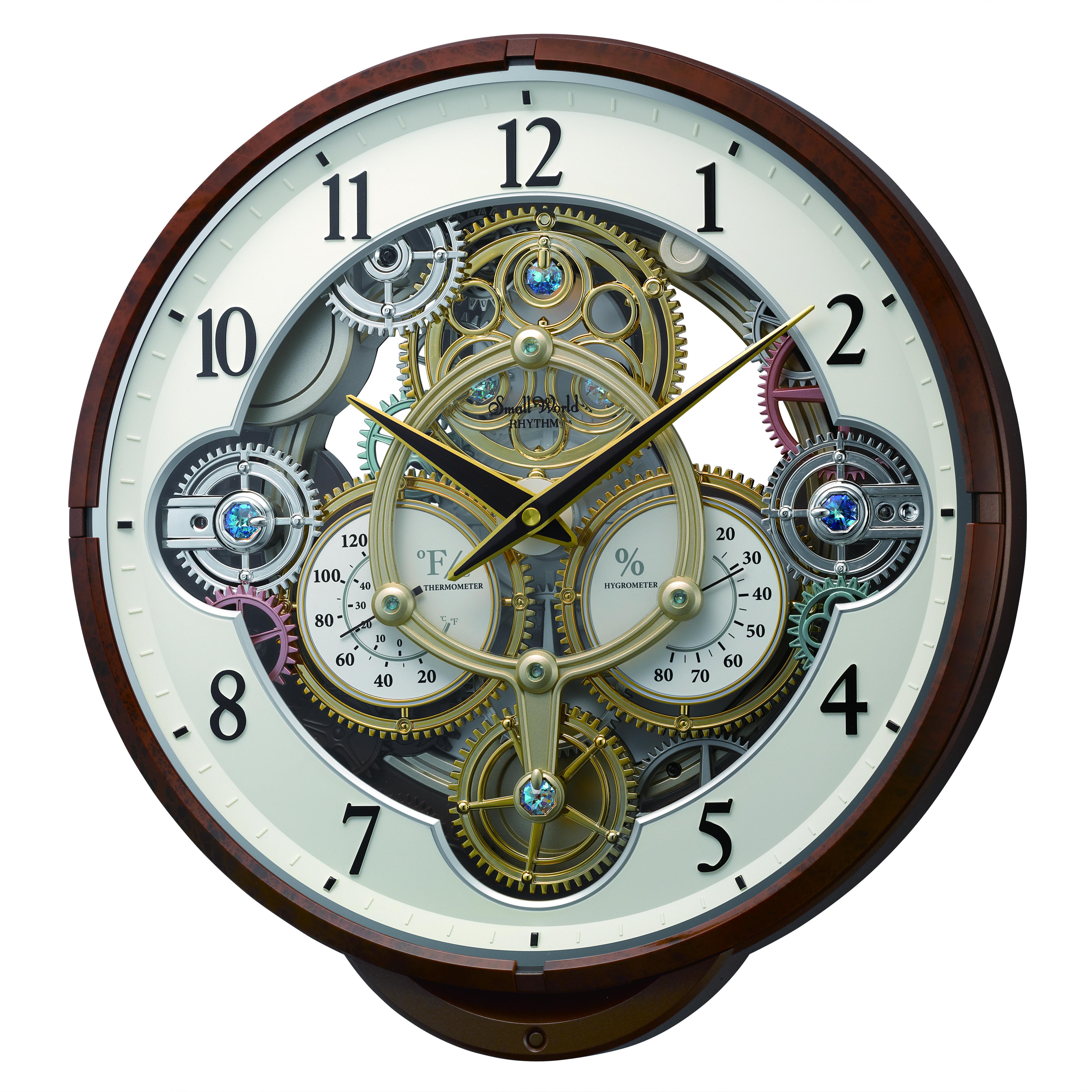 Widget 4mh886wu23 Rhythm Springfield Clock Shop