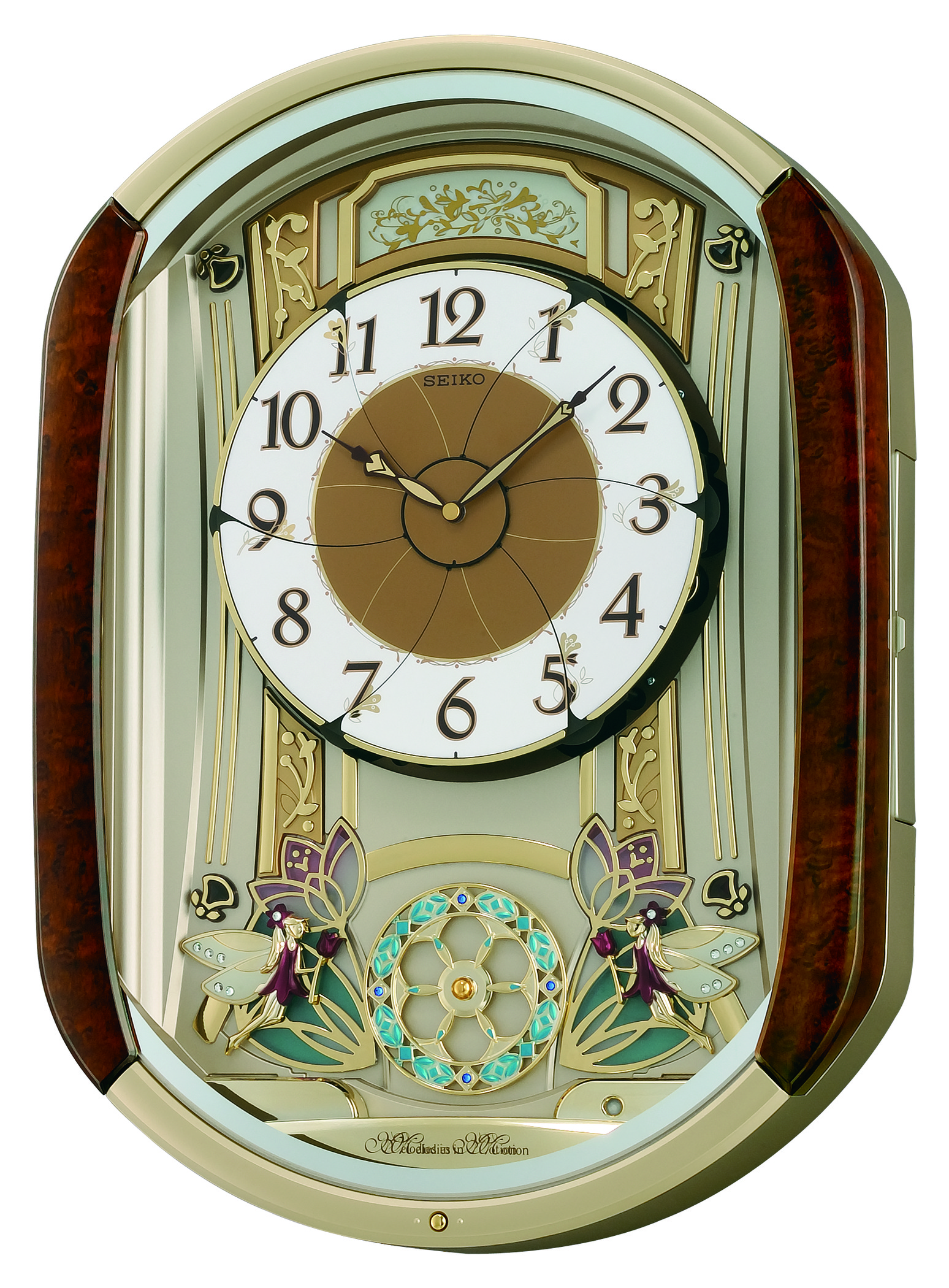 Index of seikopics seiko dancing fairies qxm275brh melodies in motion musical wall clock 1g amipublicfo Images