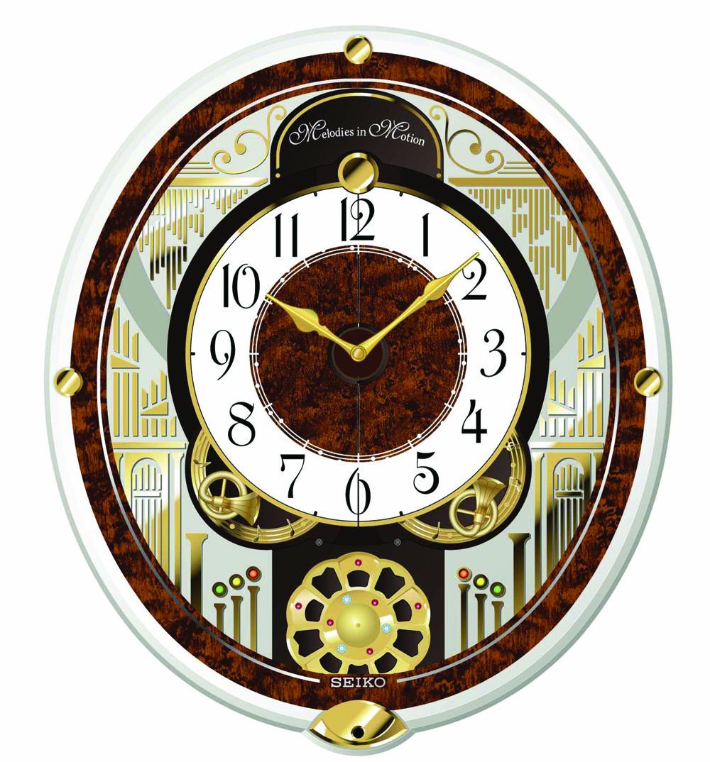 Seiko French Horns Qxm265brh Springfield Clock Shop